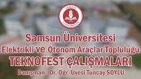 Samsun Üniversitesi Elektrikli ve Otonom Araçlar Topluluğu Teknofest 2021 Çalışmaları